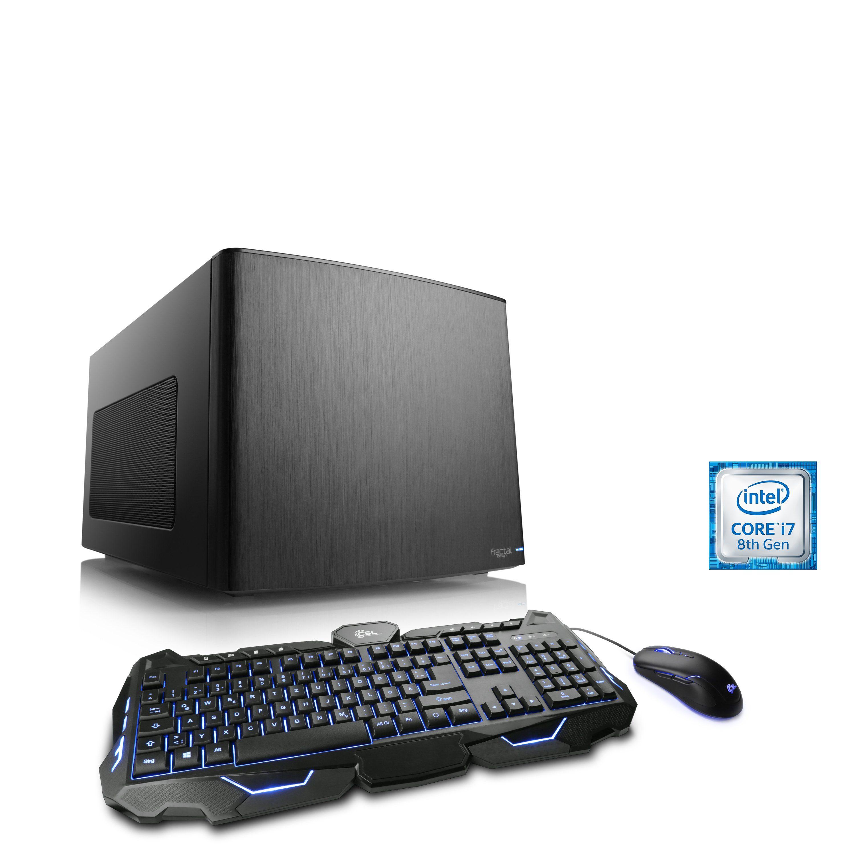 CSL Mini-ITX PC Core i7-8700K | GTX 1080 | 16GB DDR4 | 250GB SSD »Gaming Box T7663 Wasserkühlung«