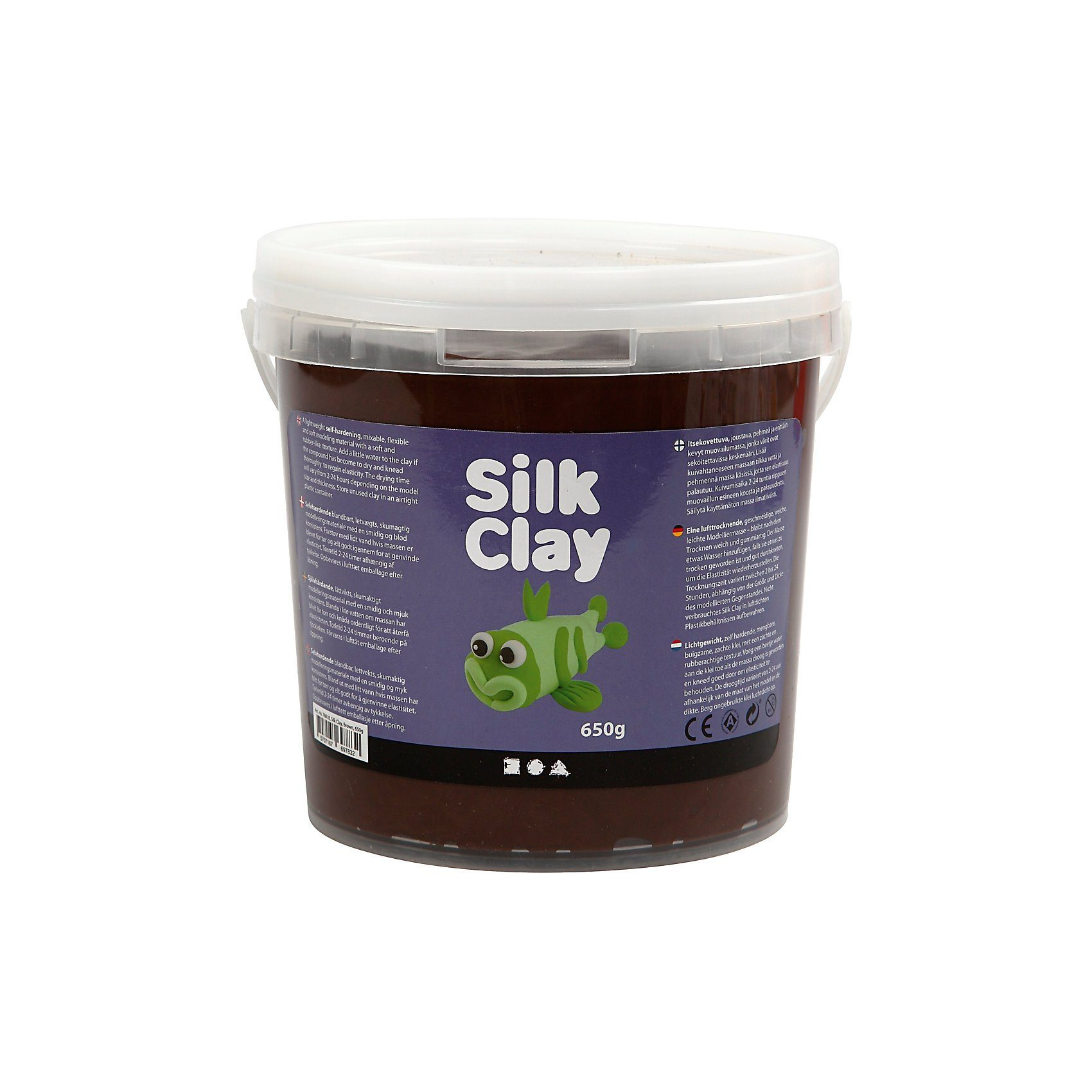 Silk Clay® Braun, 650 g