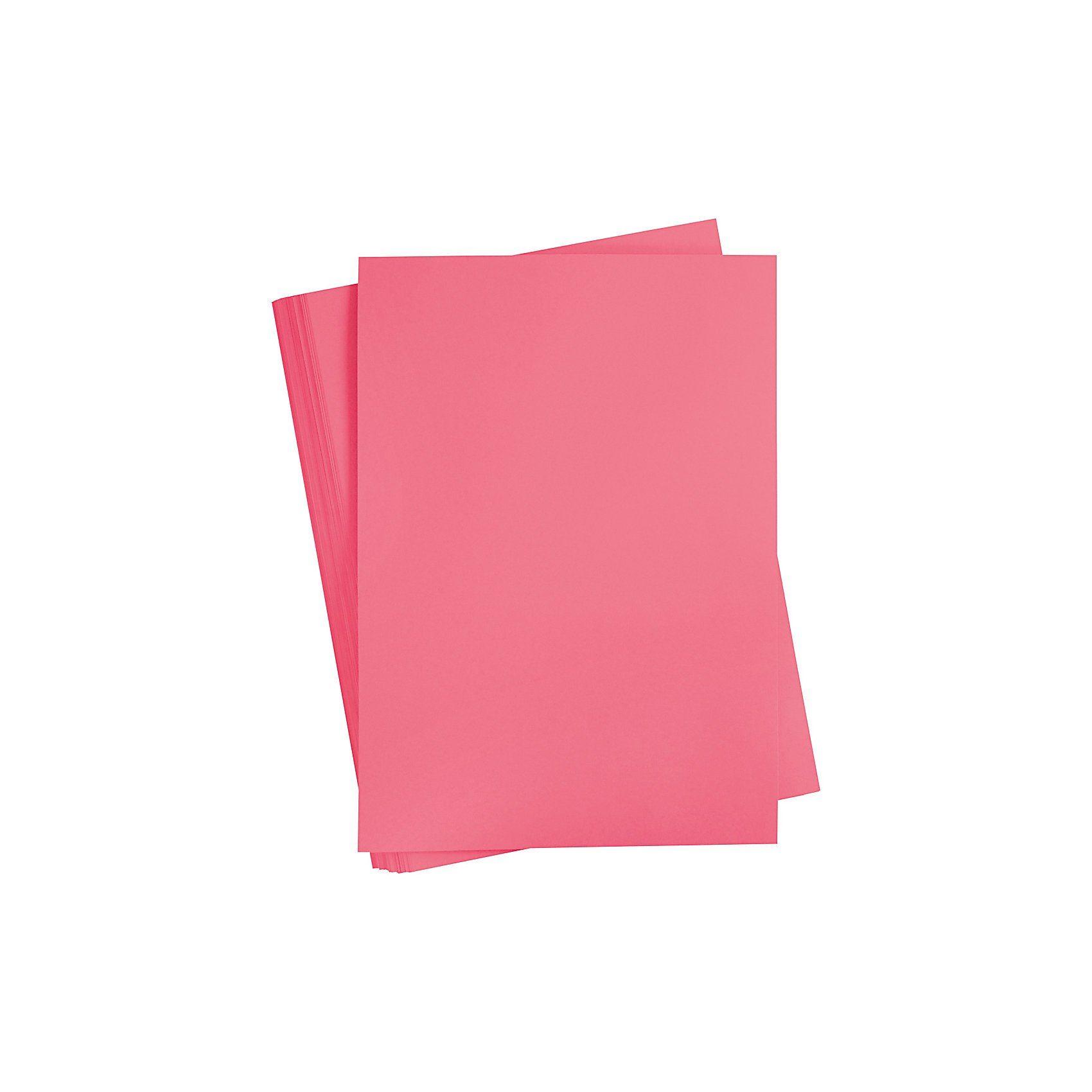Karton, farbig, A2 420x600 mm, 180 g, Altrosa, 100 Blatt