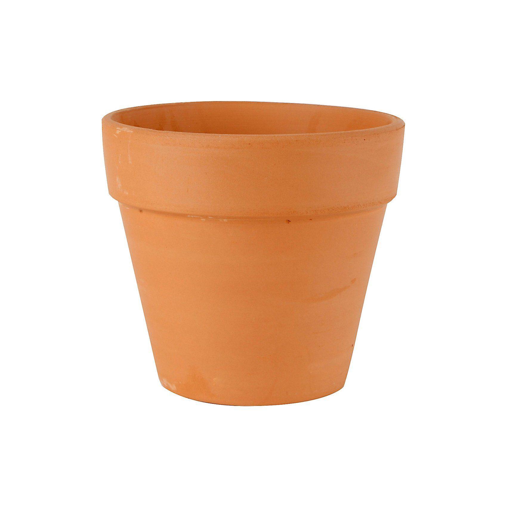 Blumentopf, D: 12 cm, H: 11 cm, 12 Stück