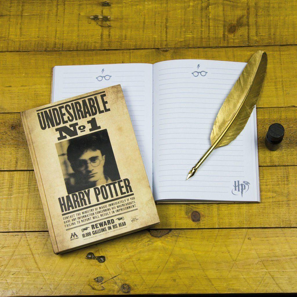 Paladone Fanartikel »Harry Potter Notizbuch Lentikular Cover«