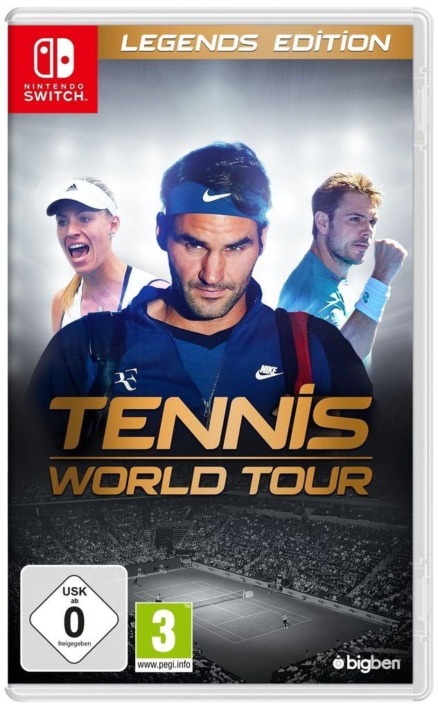 BigBen Nintendo Switch - Spiel »Tennis World Tour - Legends Edition«