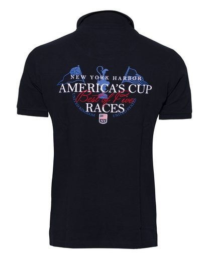 CODE-ZERO Poloshirt AMERICA´S CUP ED.11, Patches