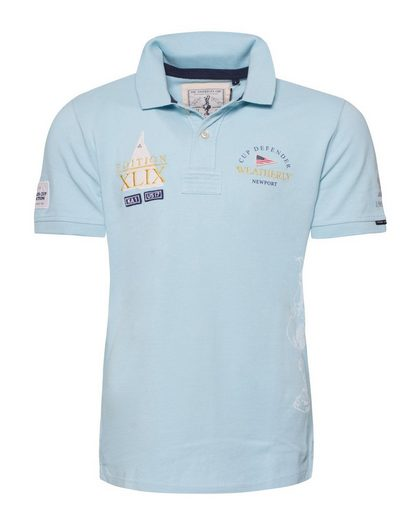 CODE-ZERO Poloshirt AMERICA´S CUP ED.18, Patches
