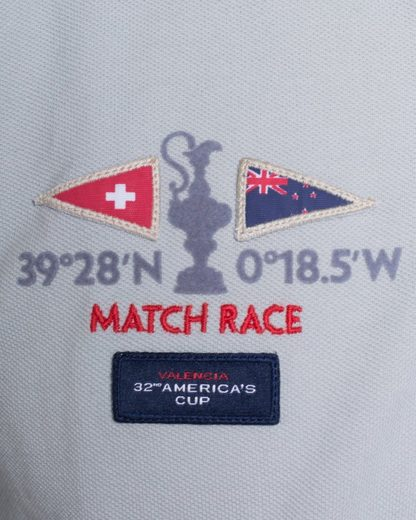 CODE-ZERO Poloshirt AMERICA'S CUP ED.32, Patches