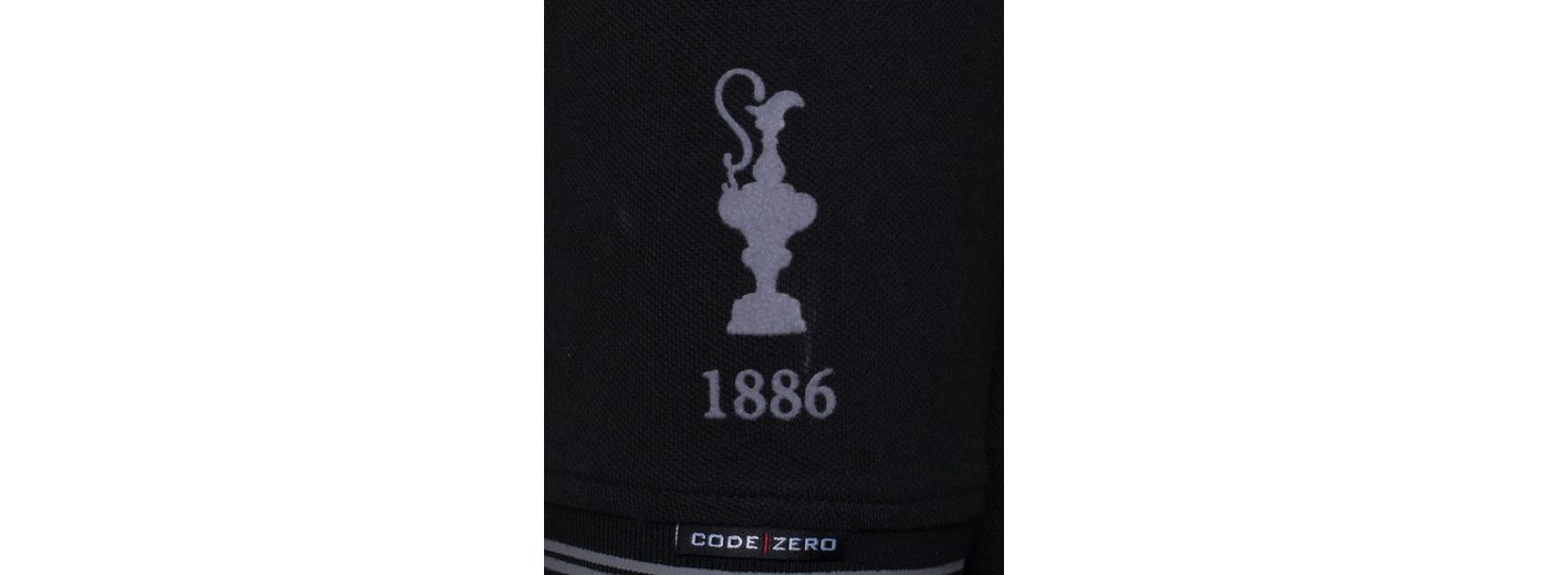 CODE-ZERO Poloshirt AMERICA´S CUP ED.6, Patches