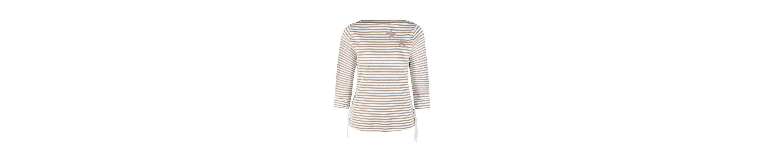 bianca 3/4-Arm-Shirt LOTTA, Sweatshirt mit Streifen und Sternen