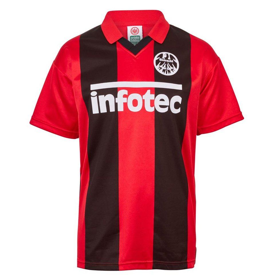 Score Draw Eintracht Frankfurt Retro Heimtrikot Von 198182 Online