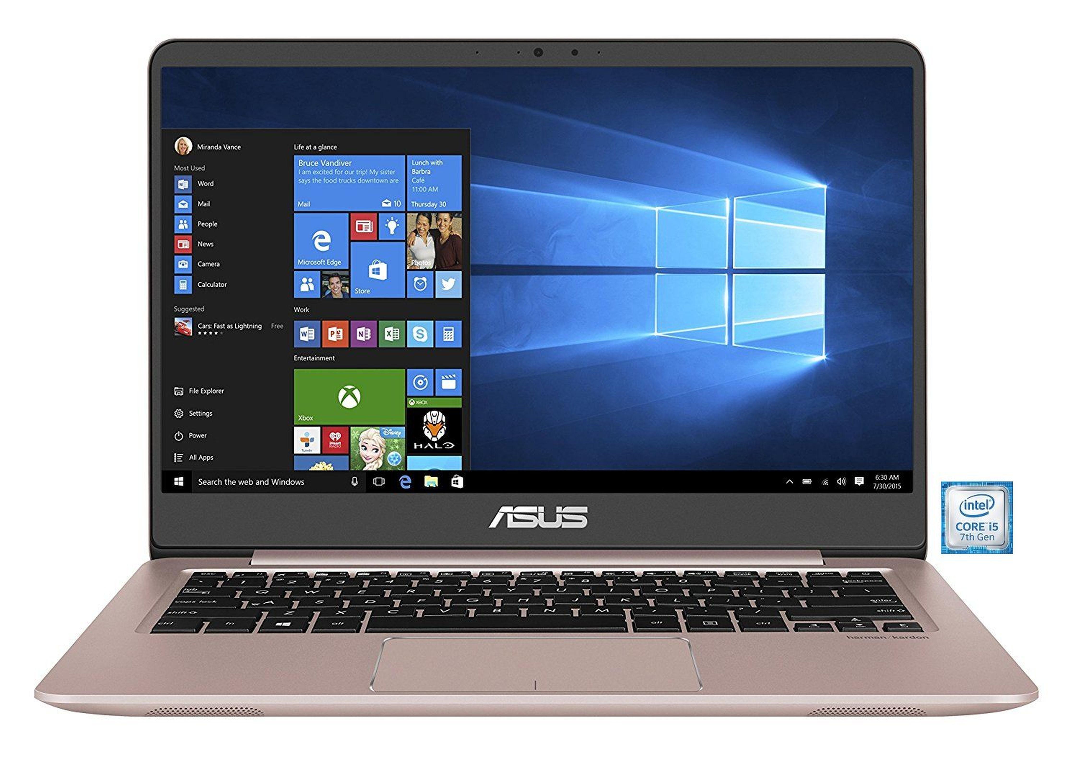 """ASUS ZenBook UX3410UA-GV643T Notebook »Intel Core i5, 35,56 cm(14"""")256 GB SSD+1 TB, 8 GB«"""