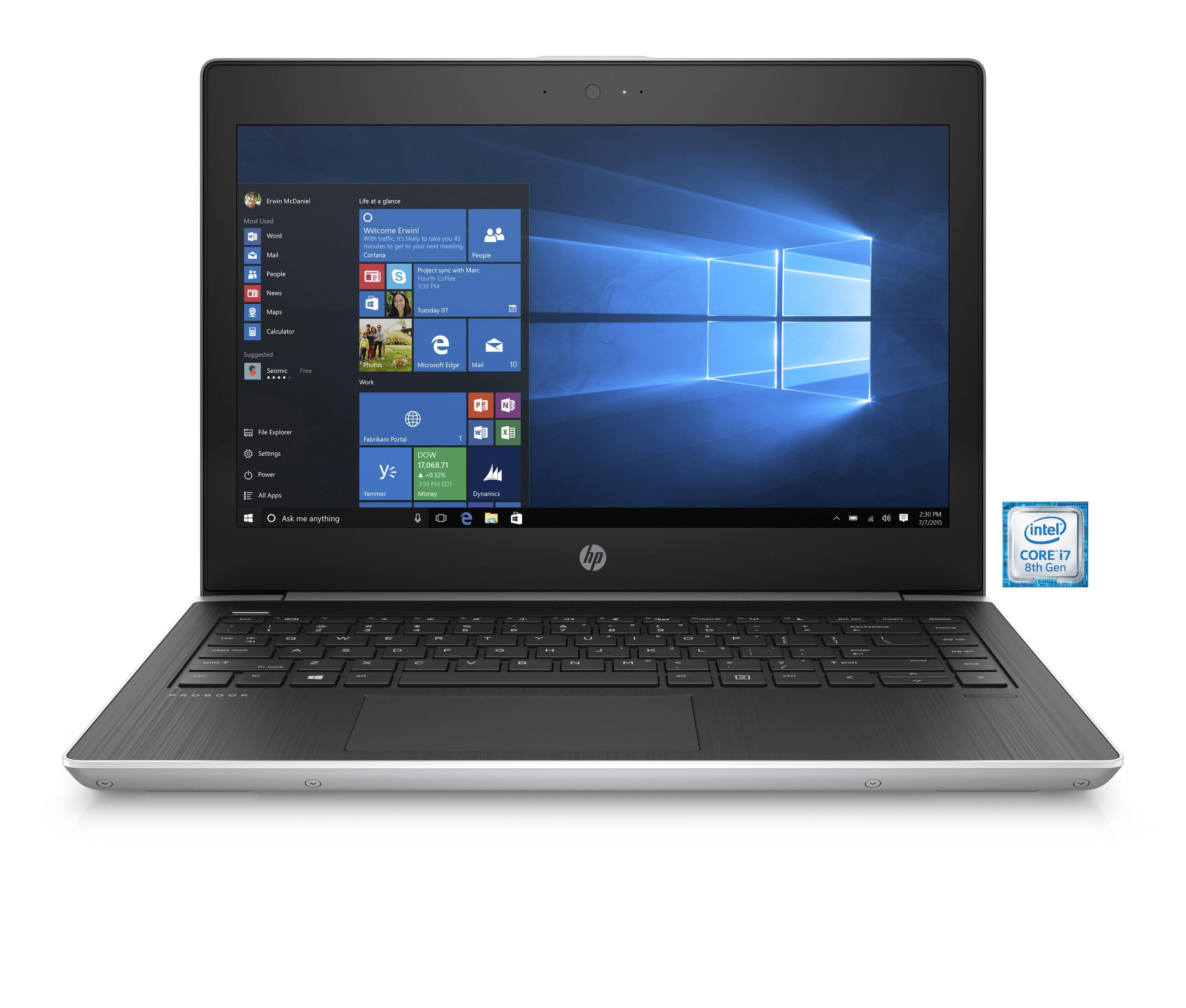 "HP ProBook 430 G5 Notebook »Intel Core i7, 33,7 cm (13,3,""), 512GB + 1TB, 16GB«"
