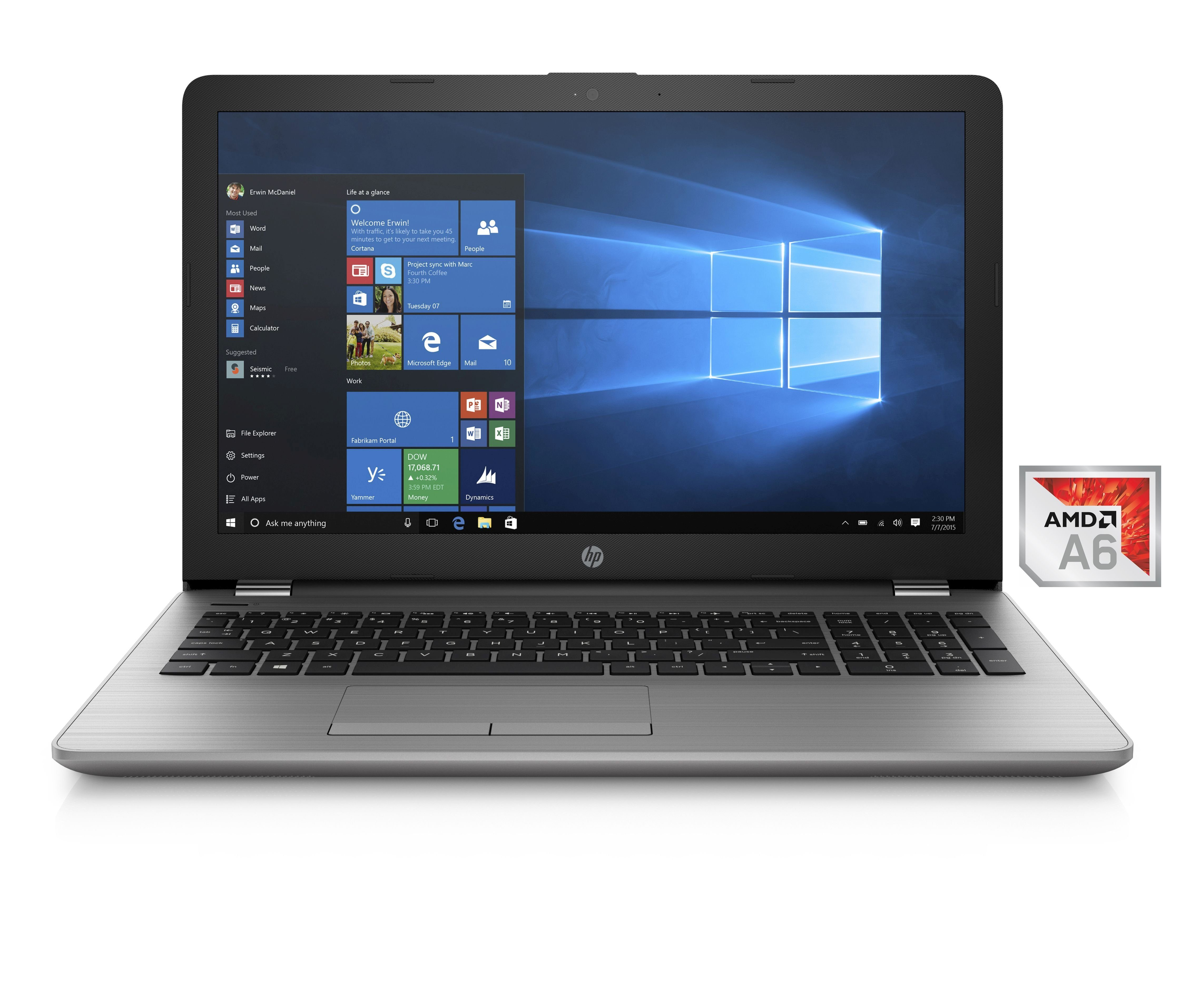 "HP 255 G6 Notebook »AMD A6, 39,6 cm (15,6""), 1 TB HDD, 8 GB«"