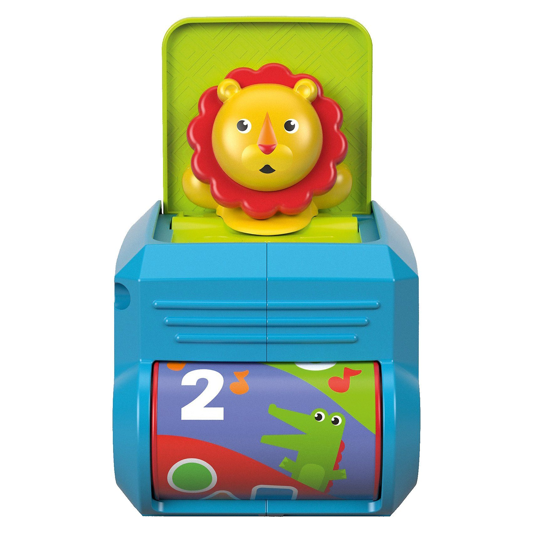 Mattel® Fisher-Price Babys Löwen-Spielwürfel