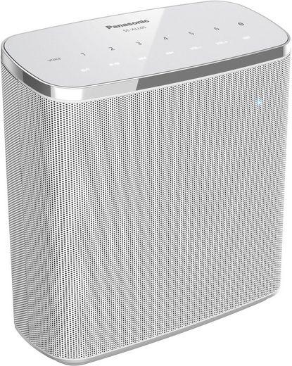 Panasonic SC-ALL05 2.0 Portable-Lautsprecher (Bluetooth, LAN (Ethernet), WLAN (WiFi), 20 W)