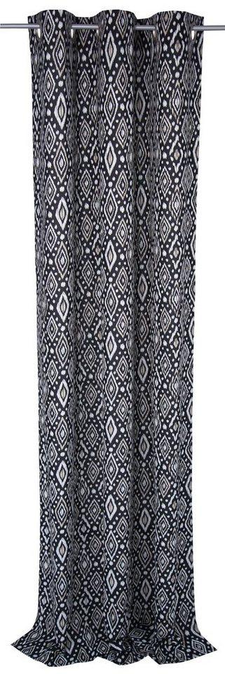 vorhang african spirit tom tailor sen 1 st ck. Black Bedroom Furniture Sets. Home Design Ideas
