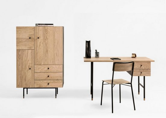 Woodman Highboard »Daniel«, mit Soft Close Funktion, Breite 90 cm