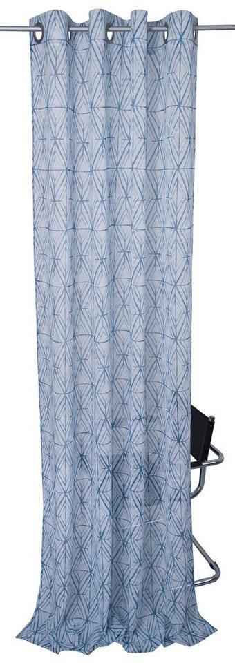 vorhang aquarell squares tom tailor sen 1 st ck. Black Bedroom Furniture Sets. Home Design Ideas