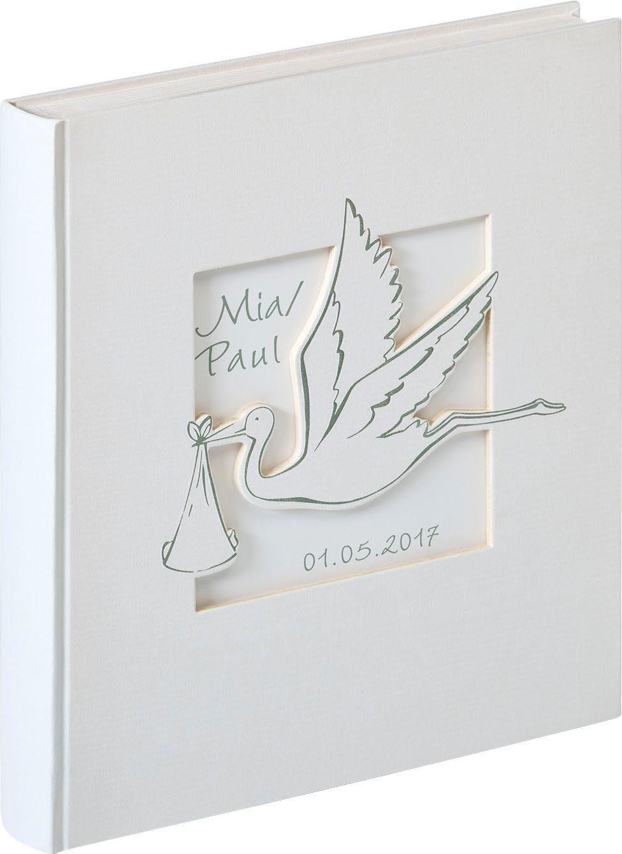Home affaire Babyalbum Cicogna, 28x30,5 cm