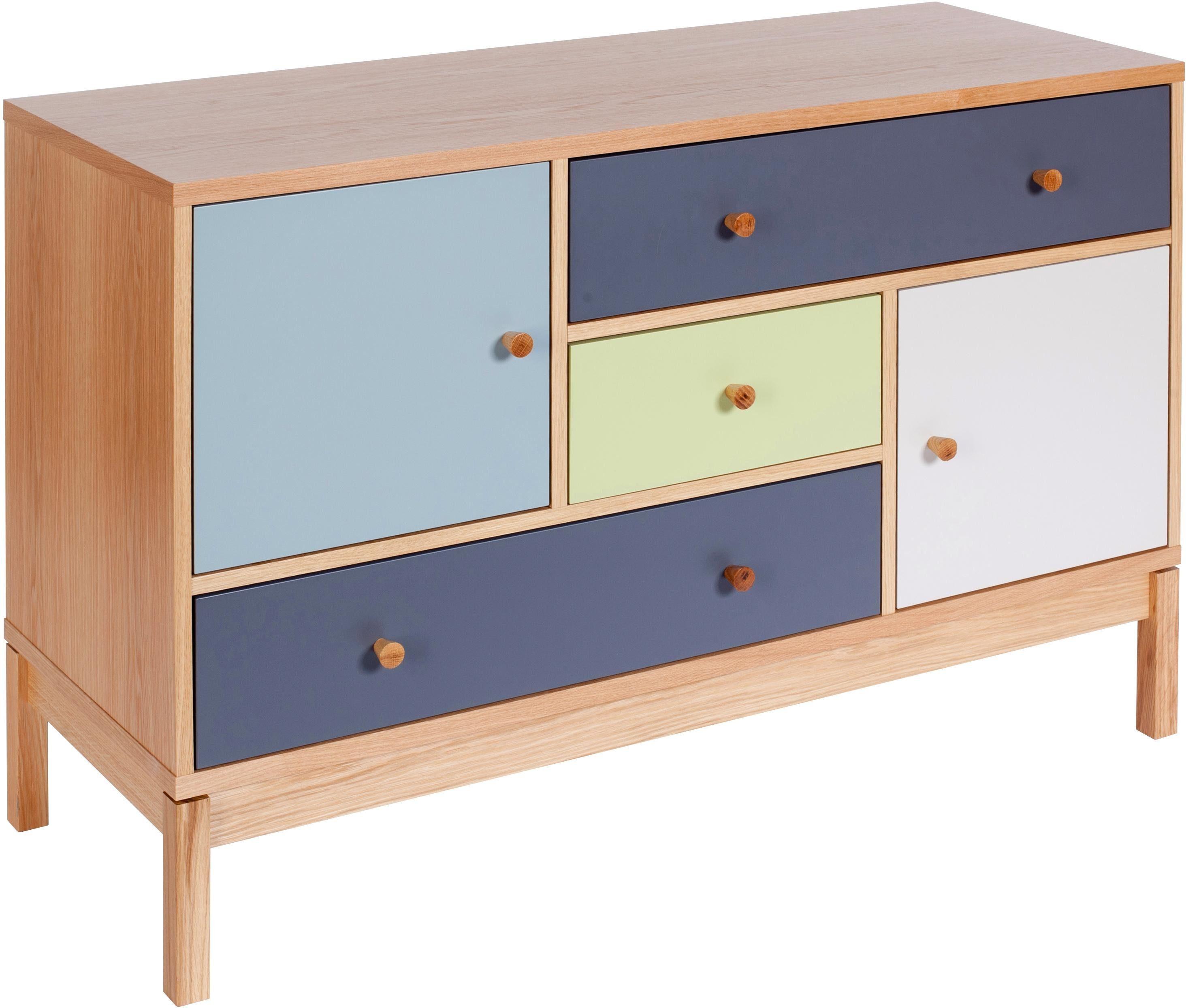 Woodman Sideboard »Bosse«, Breite 120 cm im skandinavian Design