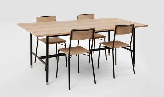 Woodman Esstisch »Daniel« (Set), Breite 200 cm, verlängerbar auf 300 cm