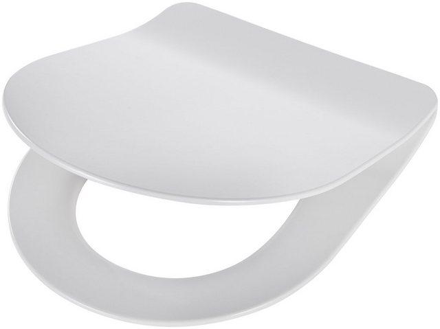 WCs und Zubehör - WC Sitz »Trento«, Premium, extra flacher Sitz, Absenkautomatik, abnehmbar weiß  - Onlineshop OTTO