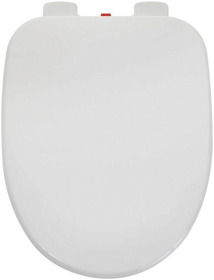 WC-Sitz »Ibiza«, Klodeckel mit Absenkautomatik, weiß online kaufen ...