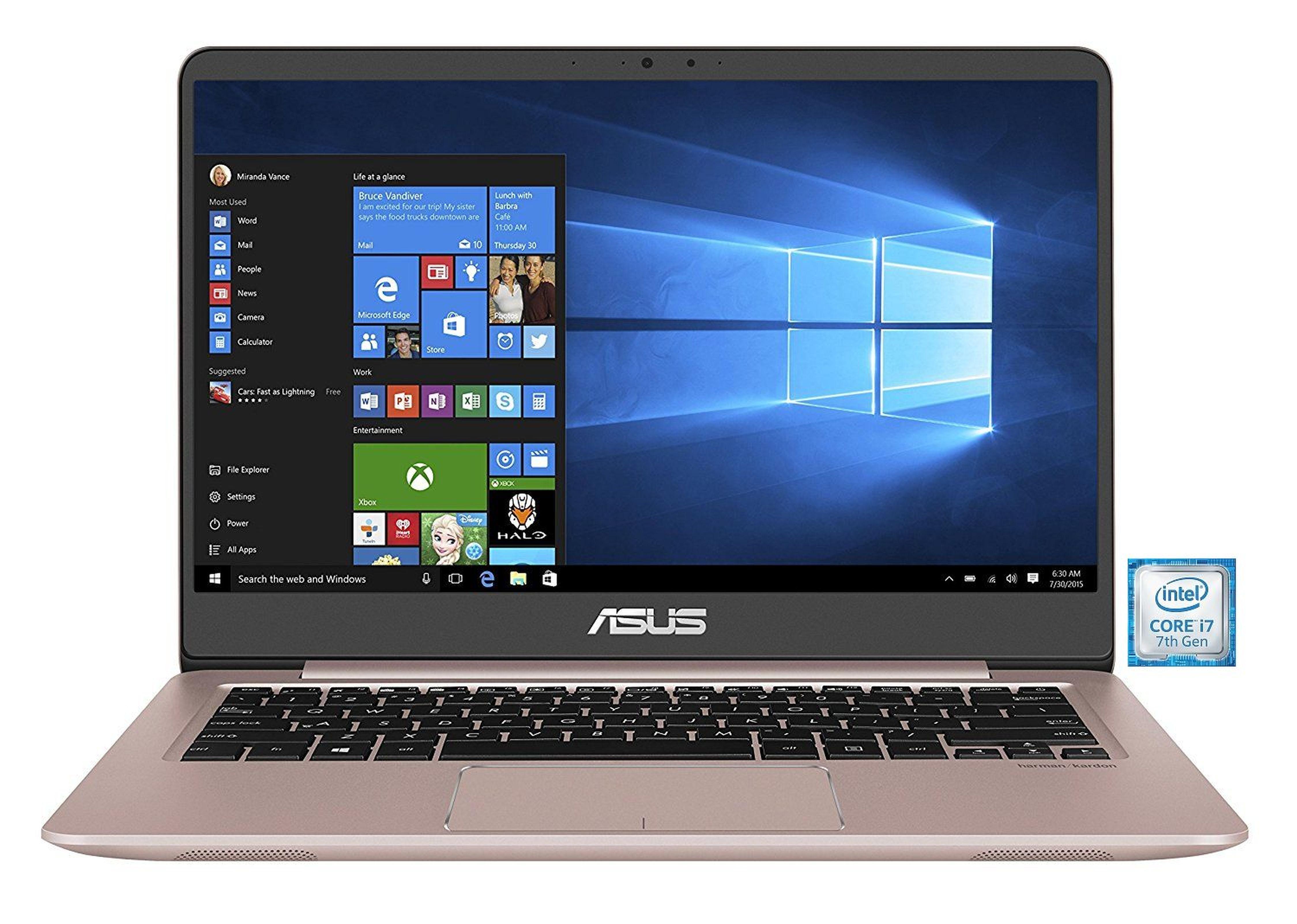 """ASUS ZenBook UX3410UA-GV646T Notebook »Intel Core i7, 35,56 cm(14"""")256 GB SSD+1 TB, 8 GB«"""