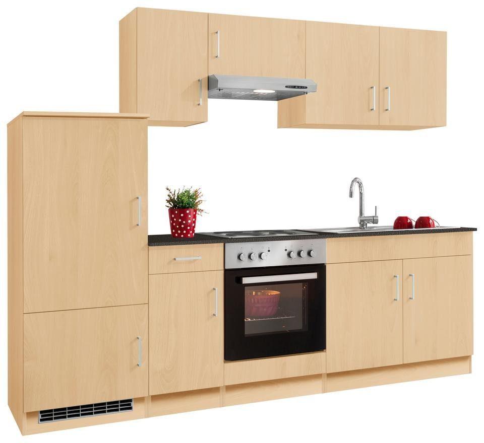 HELD MÖBEL Küchenzeile mit E-Geräten »Melbourne«, Breite 260 cm