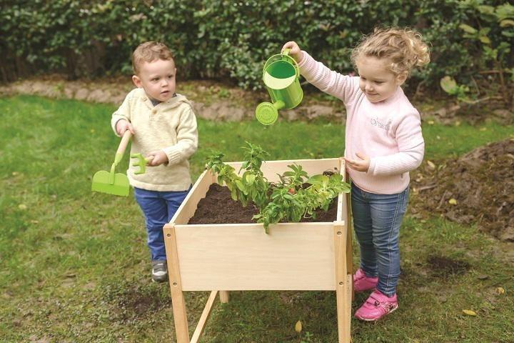Everearth Kinder Spieltisch Aus Holz Gartentisch Online Kaufen