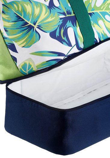 Und Bag Strandtasche Gratis Fabrizio® Bikini Mit Kühlfach U7fqP