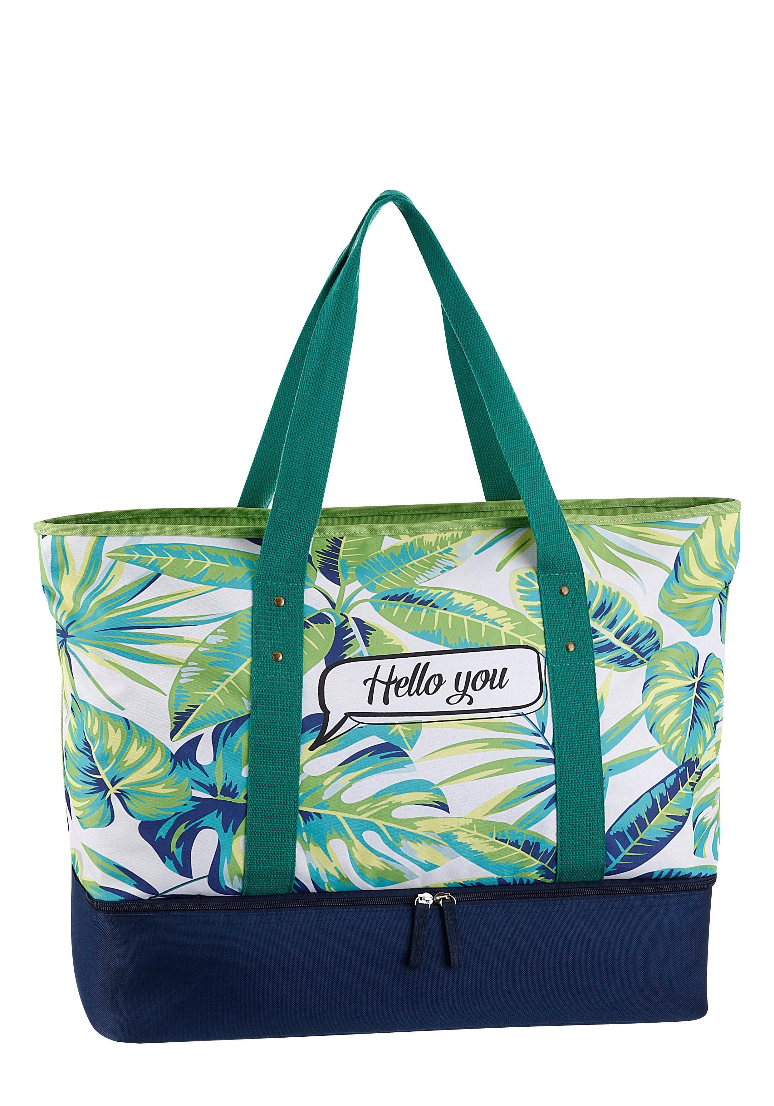 Strandtasche Fabrizio® Und Gratis Bag Bikini Kühlfach Mit 4xP8wqF