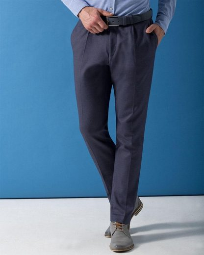 Bugatti Anzughose, in einer Jersey Ware