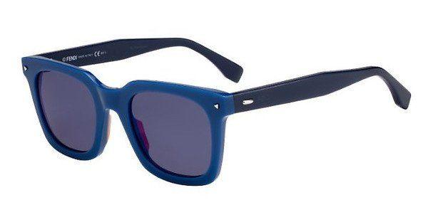 FENDI Fendi Herren Sonnenbrille » FF 0216/S«, blau, PJP/XT - blau/blau