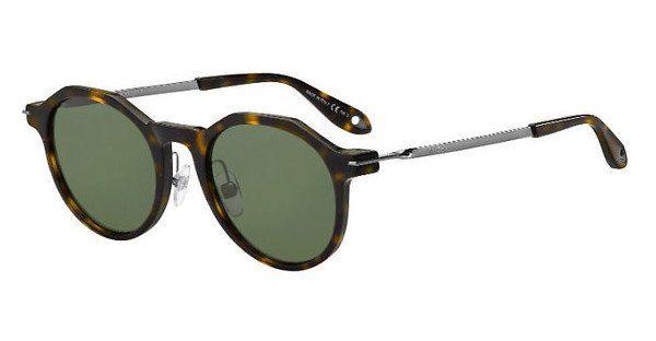 GIVENCHY Givenchy Herren Sonnenbrille » GV 7100/F/S«, weiß, NDB/QT - weiß/grün