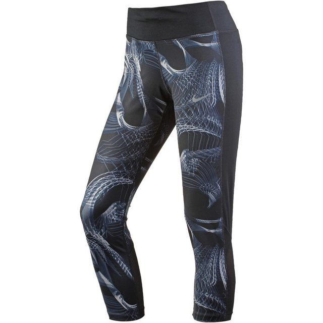 Damen Nike Lauftights Power Racer grau | 00887229566971