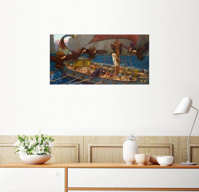 Posterlounge Wandbild - John William Waterhouse »Odysseus und Sirenen« | Dekoration > Bilder und Rahmen > Bilder | Posterlounge
