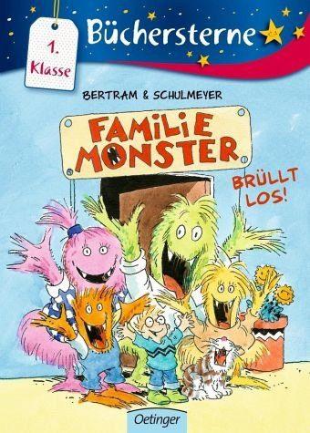 Gebundenes Buch »Familie Monster brüllt los! / Familie Monster...«