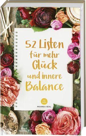 Gebundenes Buch »52 Listen für mehr Glück und innere Balance«