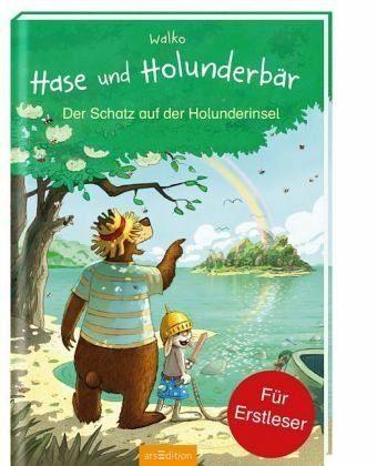 Gebundenes Buch »Hase und Holunderbär - Der Schatz auf der...«