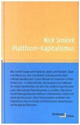 Gebundenes Buch »Plattform-Kapitalismus«