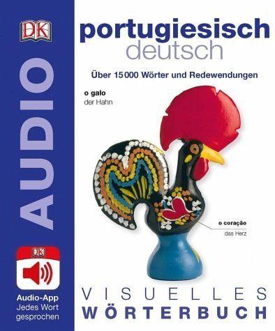 Broschiertes Buch »Visuelles Wörterbuch Portugiesisch Deutsch«