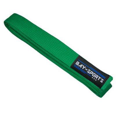 BAY-Sports Karateanzug »Budogürtel Karategürtel Kampfsportgürtel grün«, Judogürtel, Taekwondogürtel, Länge 160 cm - 350 cm
