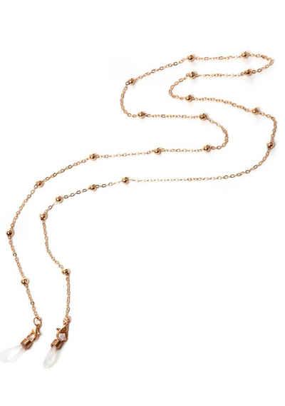 J.Jayz Brillenkette »mit kleinen Kugelelementen, goldfarben«