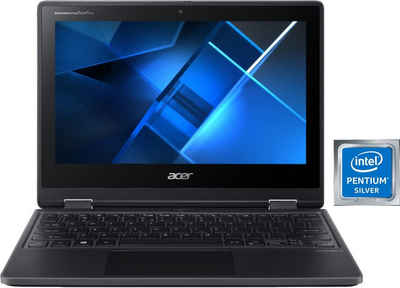 Acer TravelMate Spin B3 TMB311RN-31-P5KK Convertible Notebook (29,5 cm/11,6 Zoll, Intel Pentium Silber, UHD Graphics 605, 128 GB SSD)