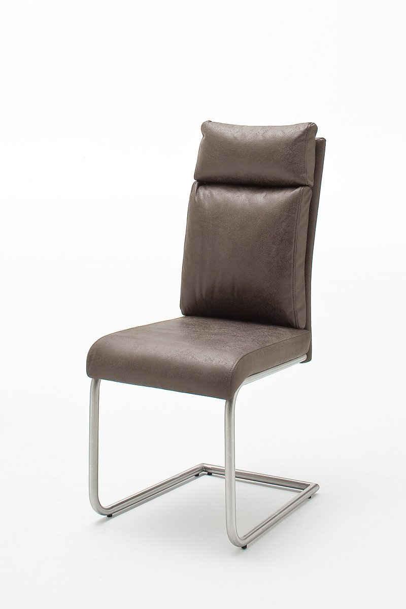 MCA furniture Esszimmerstuhl »Schwingstuhl mit Griff, PIA«