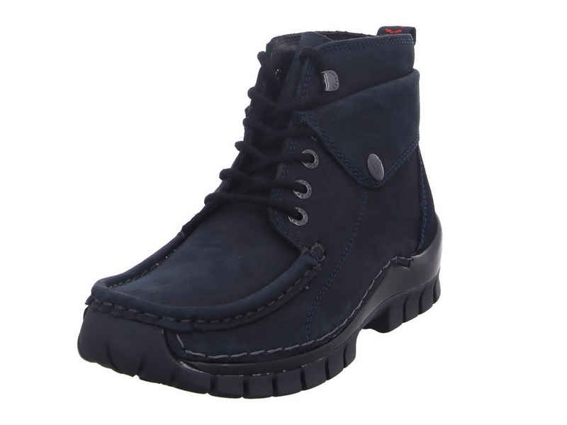 WOLKY »Jump Winter blau« Ankleboots