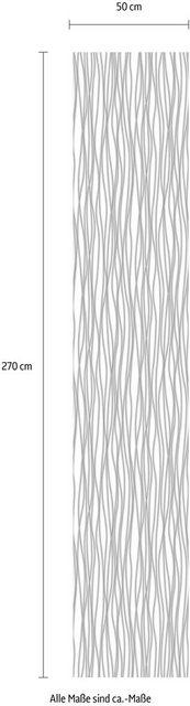 Komar Vlies-Fototapete Stripes, 50 x 270 cm / 1-tlg.