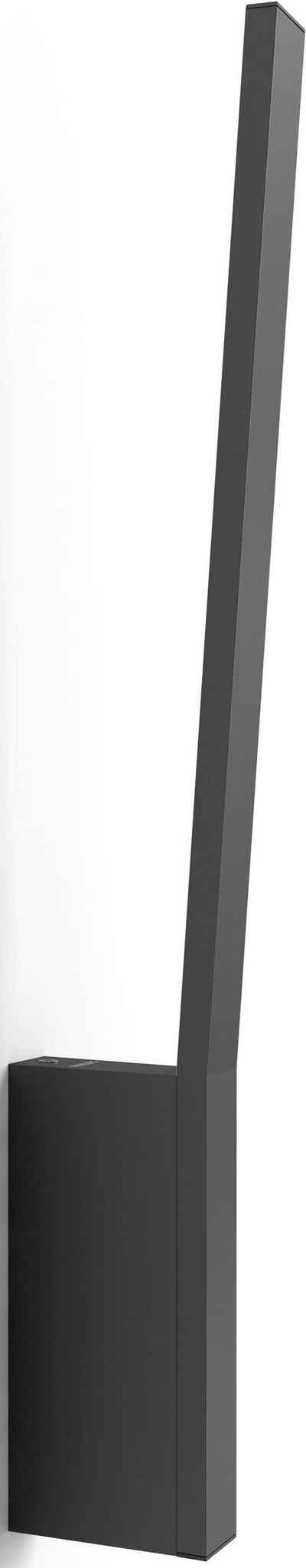 Philips Hue LED Wandleuchte »White & Col. Amb. Liane schwarz 900lm«