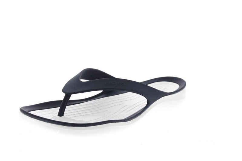Crocs »Swiftwater Flip« Zehentrenner Blau (Navy/White 462)