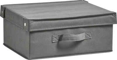 Zeller Present Aufbewahrungsbox »Faltbar« (1 Stück), mit Deckel