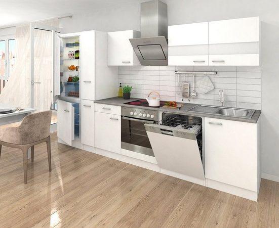 RESPEKTA Küchenzeile »Ibiza«, mit E-Geräten, 310 cm